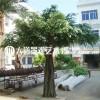 仿真大树大型玻璃钢假树仿真榕树室内包柱子装饰植物枫树