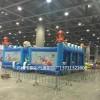 江苏大型新款网红城堡定制广场充气儿童乐园气模批发大型滑梯