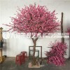 仿真樱花树桃花树许愿树室内装饰大型假桃树商场酒店婚庆摆设造景
